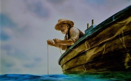 Краткое содержание старик и море