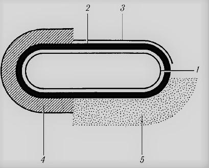 схема строения оболочки бактерии