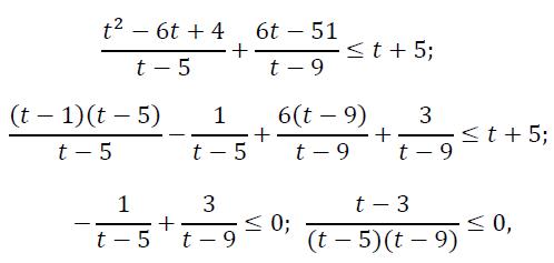 решение задания №15 егэ по математике