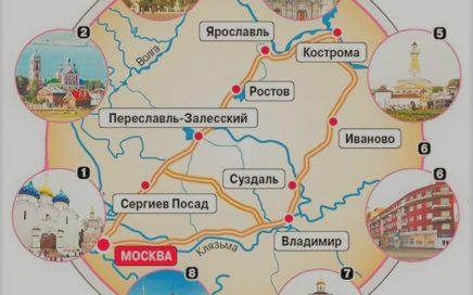 доклад золотое кольцо россии