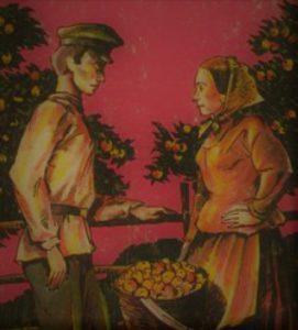 Анализ Антоновские яблоки