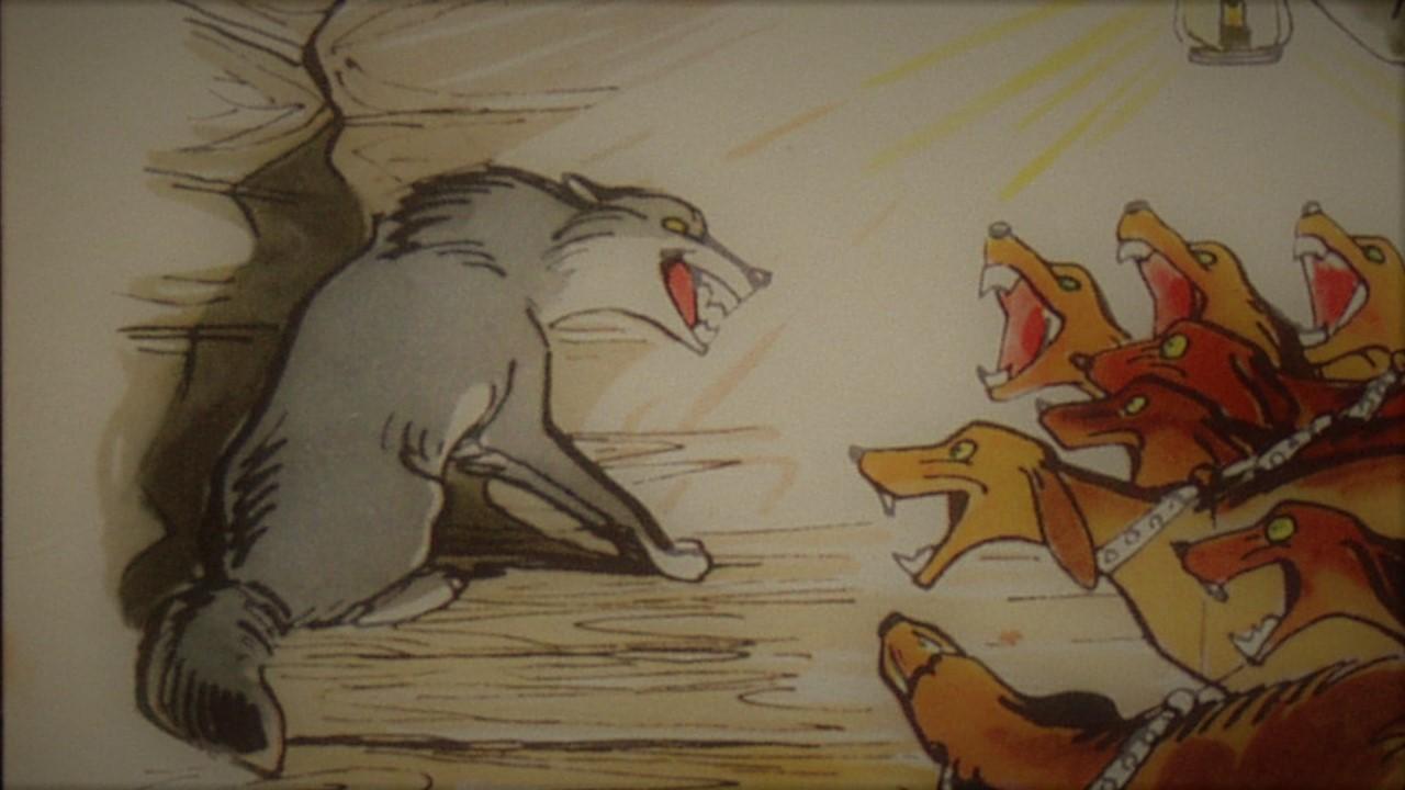 Анализ Волк на псарне