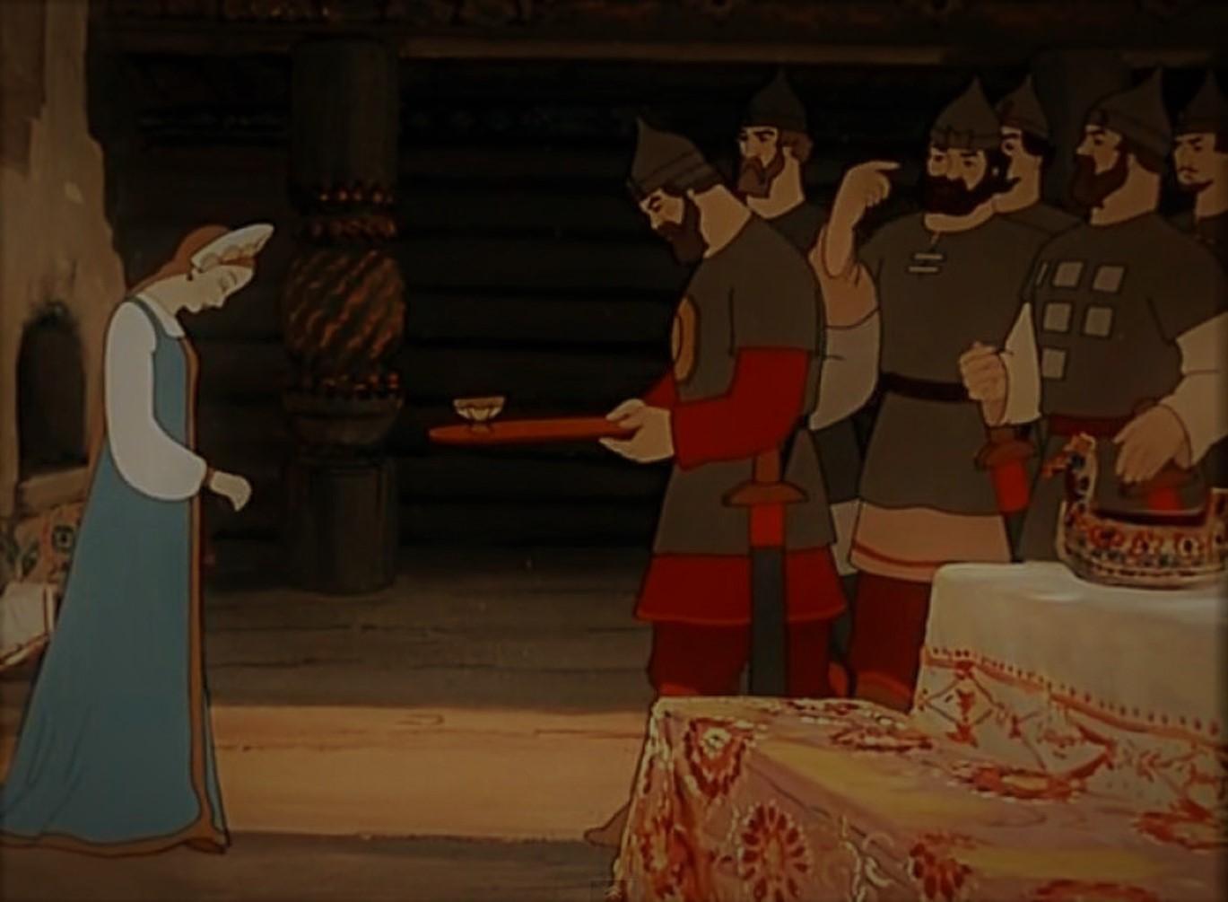 Краткое содержание Сказка о мертвой царевне и семи богатырях
