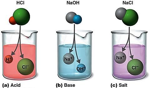 химические свойства кислот и оснований