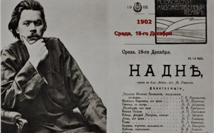 Спор о человеке в пьесе М. Горького «На дне»