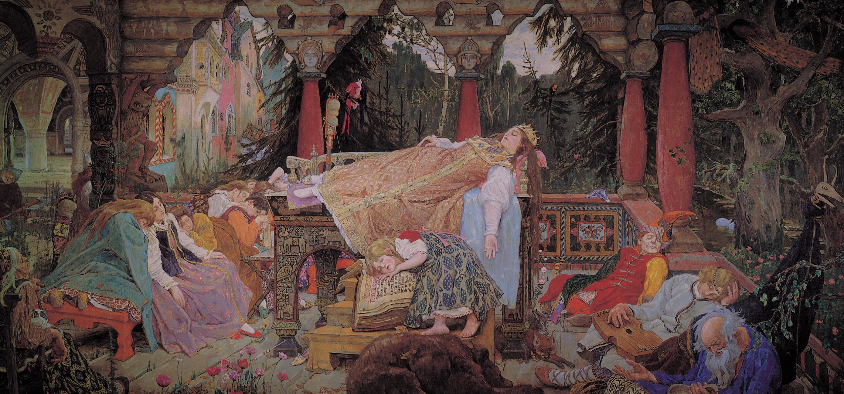 Краткое содержание спящая царевна