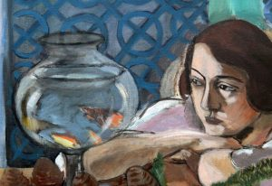 Анри Матисс «Женщина перед аквариумом»