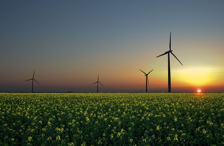 """Картинки по запросу """"пейзаж с ветряными генераторами"""""""