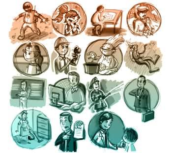 Разные профессии: взгляд изнутри