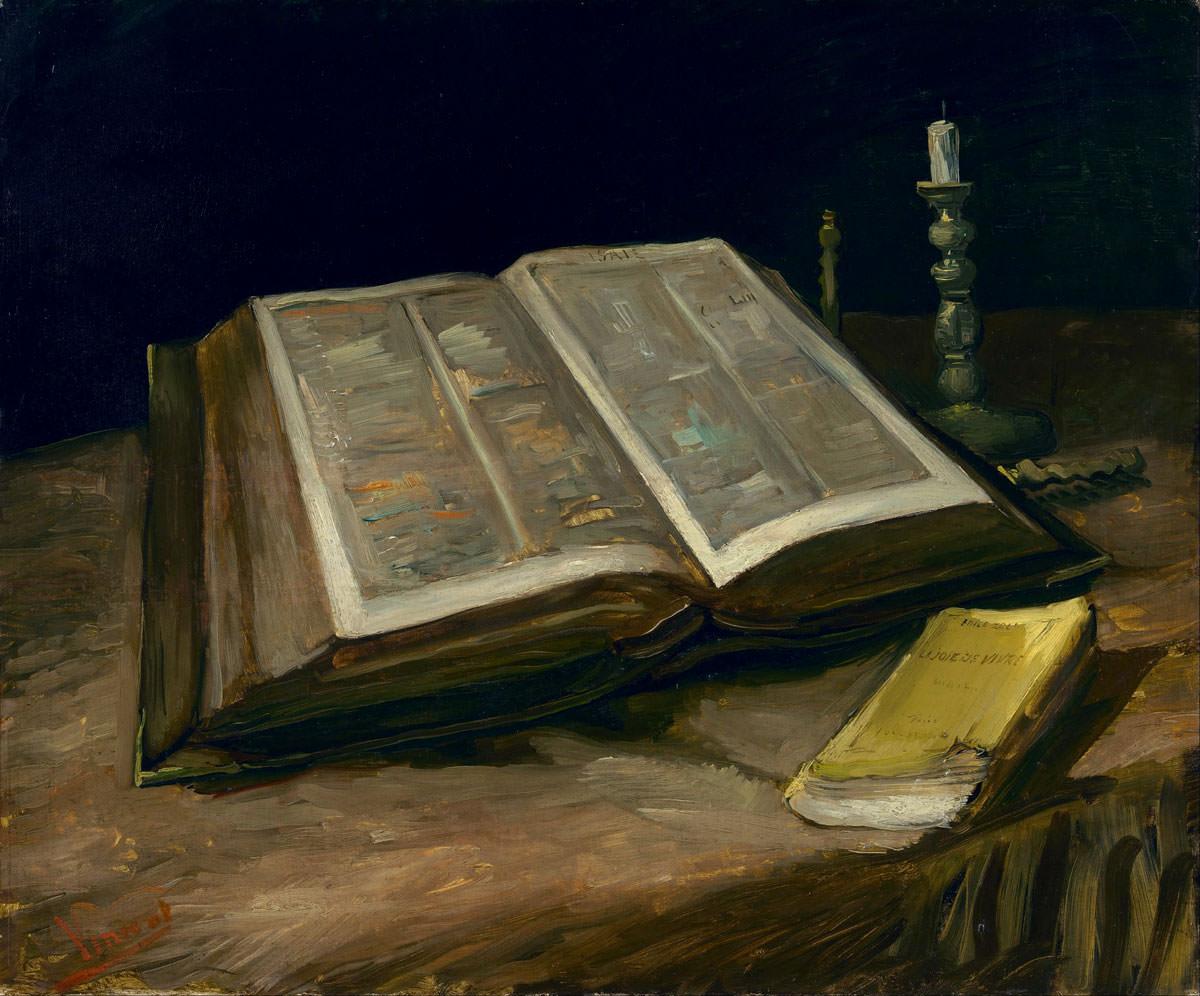 Ван Гог «Натюрморт с библией». Описание картины. Ван Гог и Гоген ...
