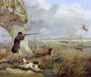 Генри Томас Алкен. Охота на уток.