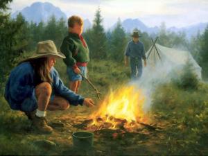 Роберт Дункан. Воспоминания о лагерном костре.