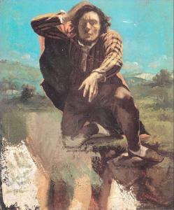 Гюстав Курбе. Мужчина в отчаянии или Мужчина, парализованный страхом.