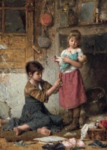 Алексей Харламов. Маленькая мама.