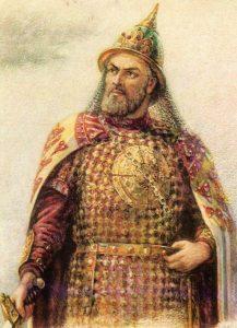 Князь Игорь. Иллюстрация П. Скотарь