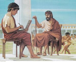 Греческое образование: мусическое и гимнастические.