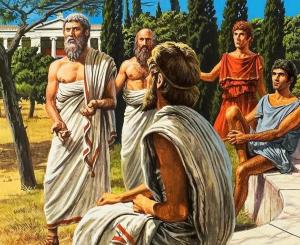 Древнегреческие философы.