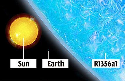 R136a1 - новый гигант