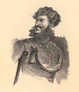 Капитан Копейкин, иллюстрация