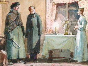 А. С. Пушкин «Станционный смотритель», иллюстрация