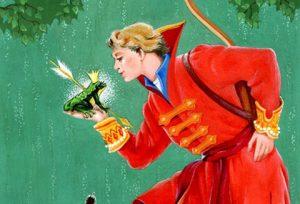«Царевна-лягушка», иллюстрация