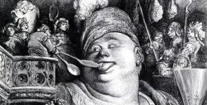 «Гаргантюа и Пантагрюэль» Ф. Рабле, иллюстрация